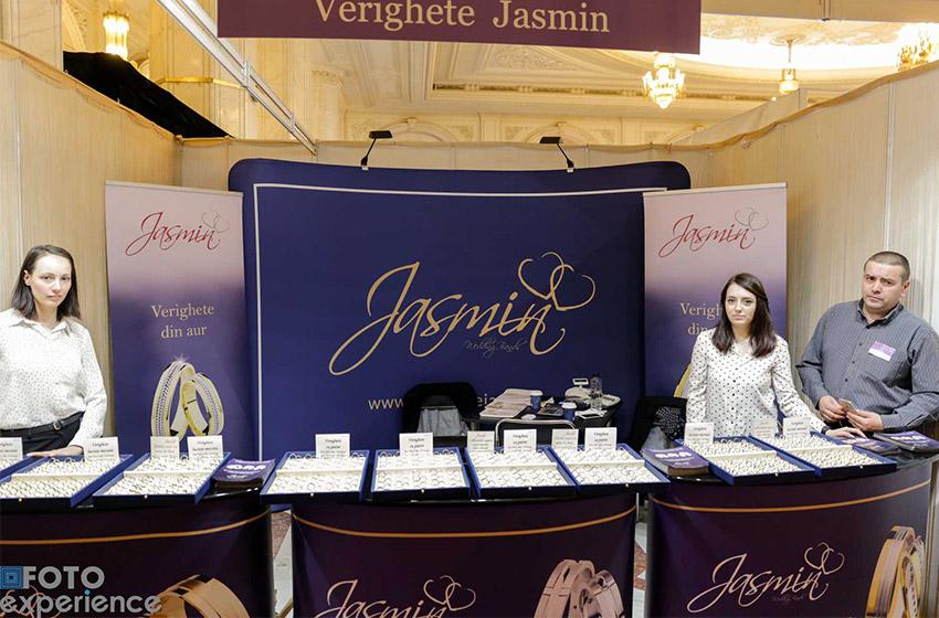 Bijuteria Jasmin, in centrul atentiei la Targul Mariage Fest din Bucuresti