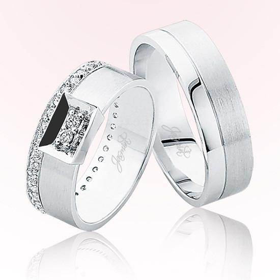 Verighete Cu Diamante | JSS 0802 | Verighete Jasmin