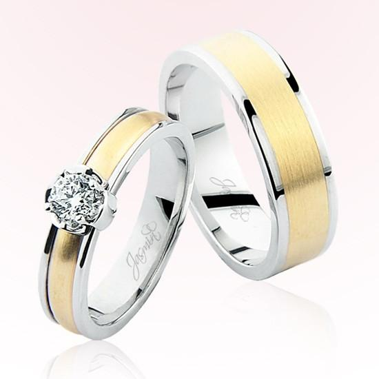 Verighete Cu Diamante | JSS 0603 | Verighete Jasmin