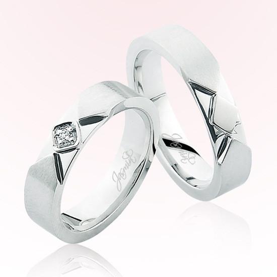 Verighete Cu Diamante | JSS 0501 | Verighete Jasmin