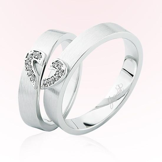Verighete Cu Diamante | JSS 0401 | Verighete Jasmin