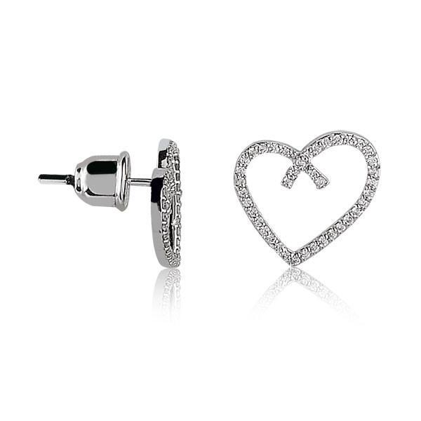 RBE 3061 - Cercei Cu Diamante | Rosa Bianco