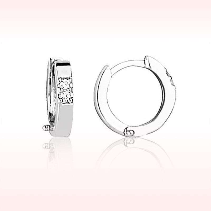 RBE 3069 - Cercei Cu Diamante | Rosa Bianco