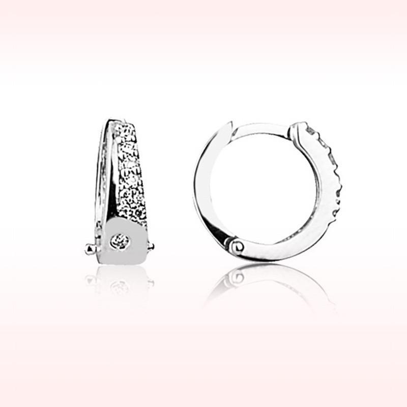 RBE 3067 - Cercei Cu Diamante | Rosa Bianco