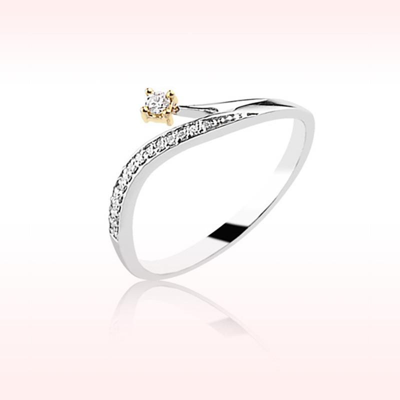 RBR 1648 - Inele Cu Diamante | Rosa Bianco