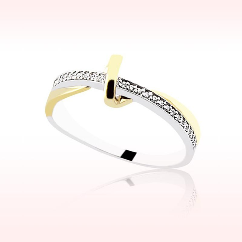 RBR 1592 - Inele Cu Diamante   Rosa Bianco