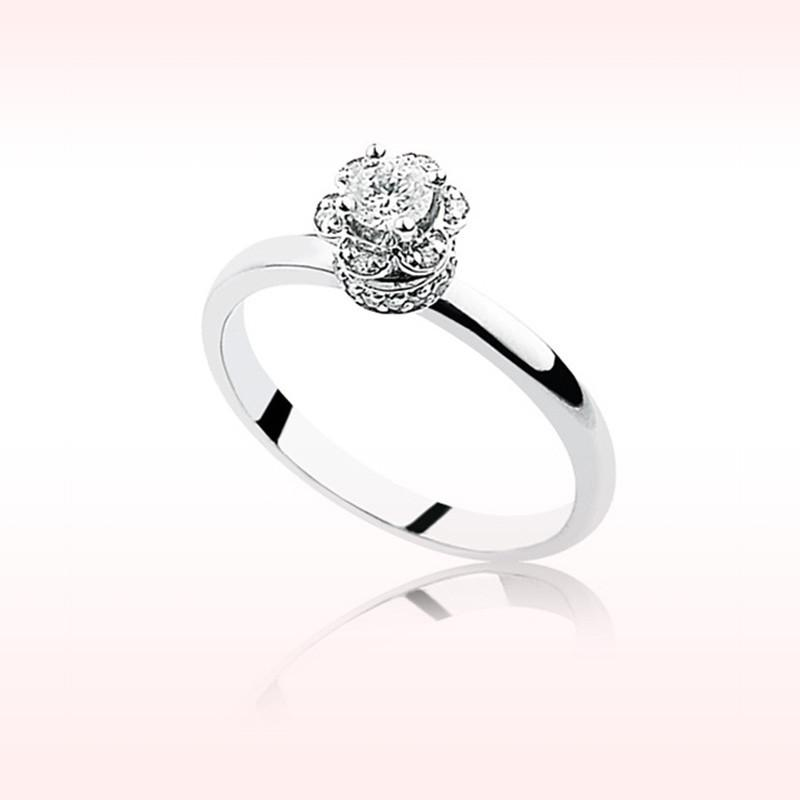 RBR 1025 - Inele Cu Diamante | Rosa Bianco