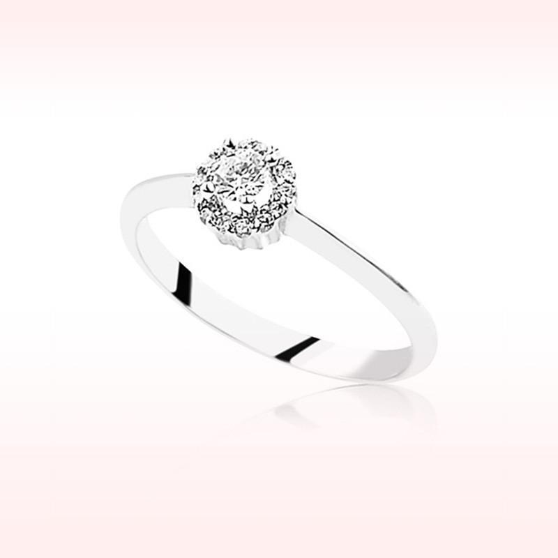 RBR 1003 - Inele Cu Diamante | Rosa Bianco