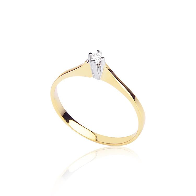 RBR 0005 - Inele Cu Diamante | Rosa Bianco